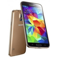 Refurbished Samsung GALAXY S5 SM-G900i 16GB 4G LTE Factory Unlocked Phone GOLD + RE-SEALED RETAIL BOX + 15 DAY MONEY BACK